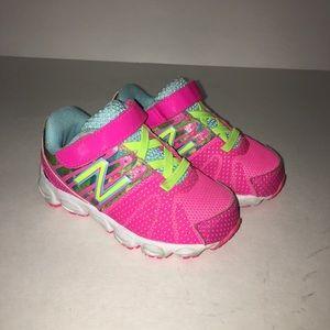 New Balance Pink Toddler Tennis Shoe Size 5.5